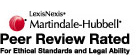 Lexis Nexis Martindale-Hubbell Peer Review Rated
